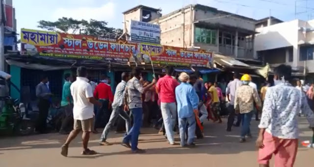 tmc bjp clash, political clash at bengal, trinamool bjp clash at purba medinipur, purba medinipur news, west bengal political news