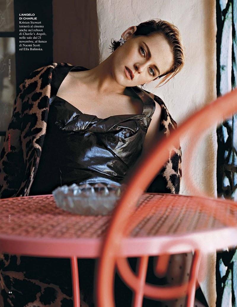 Kristen Stewart in Vanity Fair Magazine, Italy September 2019