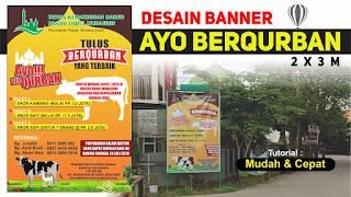 Desain Banner Qurban CDR