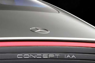 Tampilan Mobil Konsep Baru Mercedes-Benz