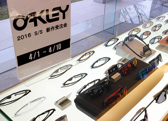 OAKLEY(オークリー) 2016 新作受注会