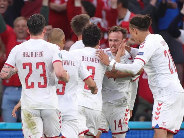 Denmark Team at Euro 2020 photo