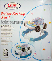 Care 2 in One Walker Rocker Mobil