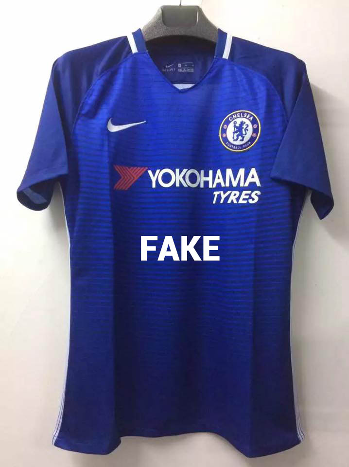 False Nike Chelsea 2017-2018 Home Jersey - Fake. This is not the new ... 572d729a9