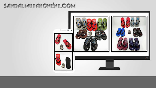 Produsen Sandal Anak Cowok Termurah- AMX Club Bola Simplek TG