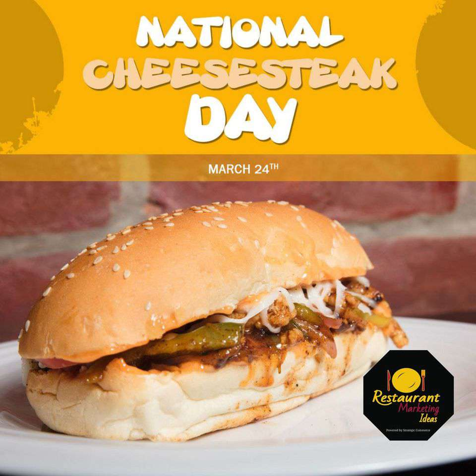 National Cheesesteak Day Wishes For Facebook