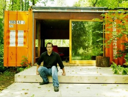 Shipping Container Cabins, Homes and Buildings by HyBrid Architecture 35