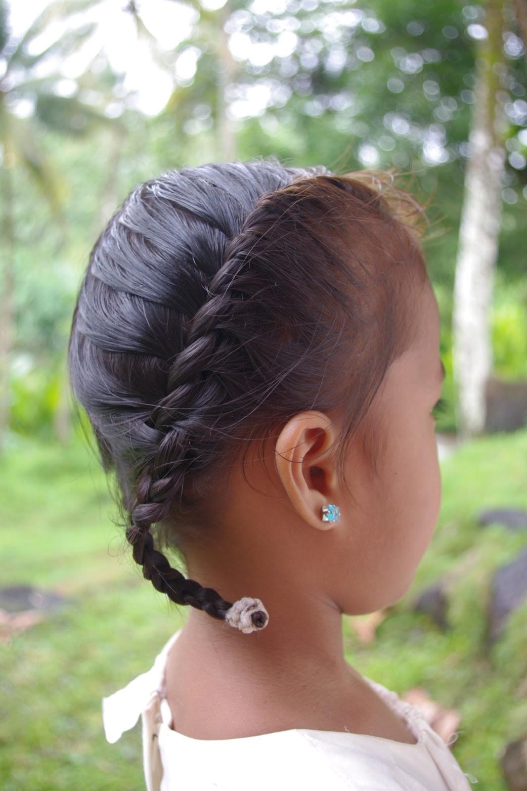 Braids & Hairstyles For Super Long Hair: Micronesian Girl