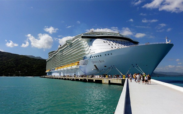 navio de cruzeiro Oasis of the Seas