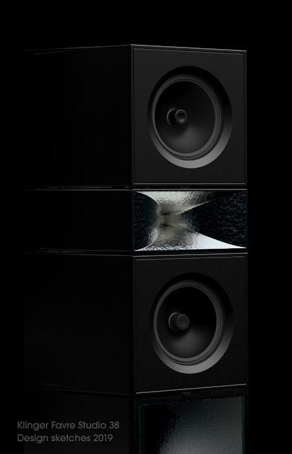 klinger favre Studio 38 enceinte speaker haute fidélité hautdegamme