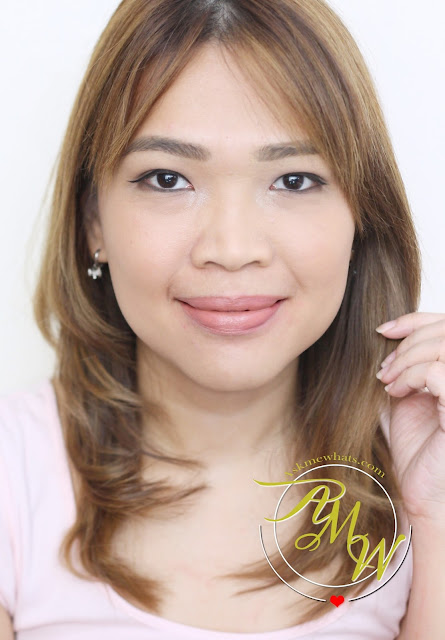 a photo of nikki tiu askmewhats wearing Pixi By Petra MatteLast Liquid Lip Pastel Petal