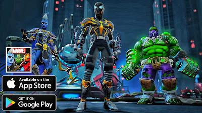 تحميل لعبة Marvel Realm Of Champions للأندرويد بجرافيك خيالي