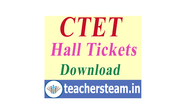 Download CTET Hall Tickets