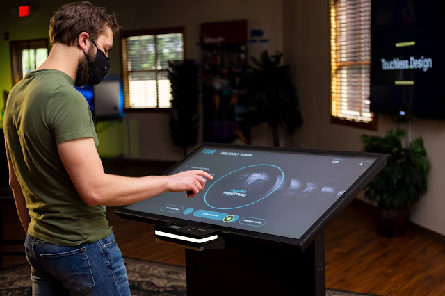 Touchless.Design Initiative Will Create Touchless Kiosks for Museums