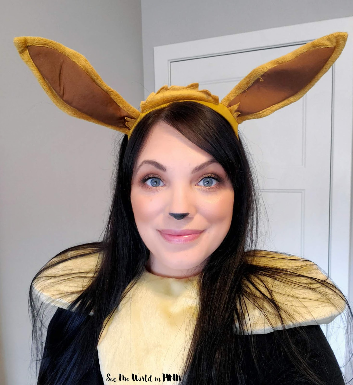 Eevee Pokemon Makeup Halloween Look - October Shop My Stash