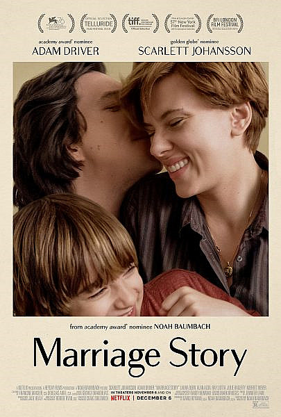 Sinopsis Film Marriage Story (2019) - Scarlett Johansson, Adam Driver