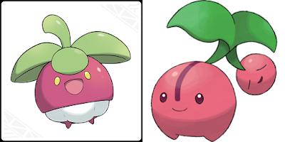 Bounsweet Cherubi Pokémon fruit cherry