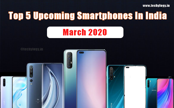 upcoming smartphone in india 2020