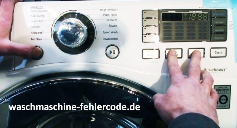 LG Geschirrspüler Fehlercode FE