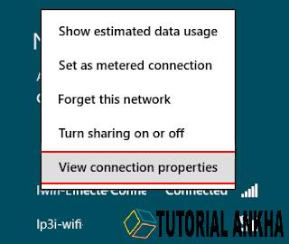 Cara Mudah mengganti Password wifi pada windows 8