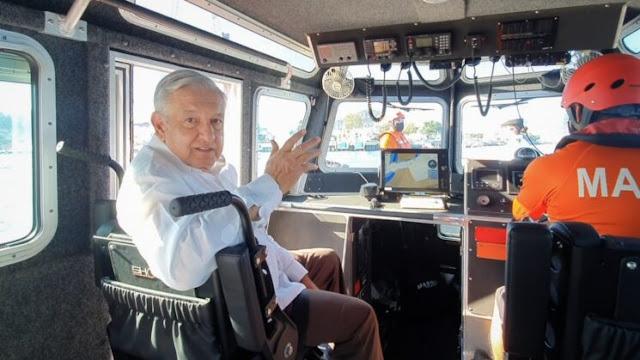 Control y vigilancia de puertos es asunto de seguridad nacional: AMLO. Presidencia