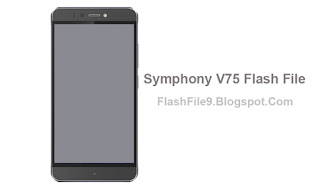 Symphony V75 Firmware (Flash File) Link Free This post i will share with you latest version of symphony v75 flash file. you can easily download this Firmware on our site below on this post.