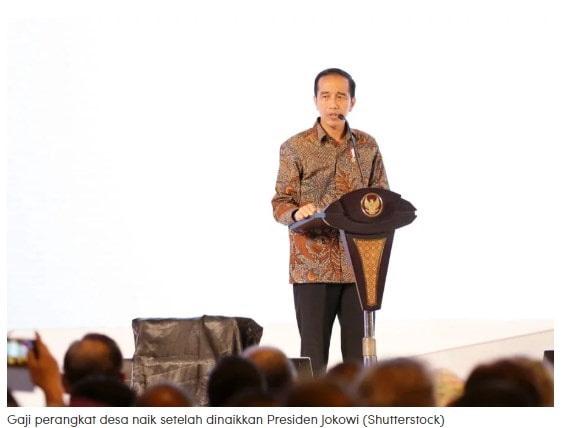 Segini Besaran Gaji Perangkat Desa Setelah Dinaikkan Jokowi Setara PNS, Segini Besaran Gaji Perangkat Desa Setelah Dinaikkan Jokowi