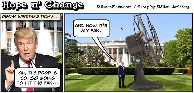 stilton's place, trump, politics, conservative, humor, satire, wiretapping, obama, lynch, jarrett