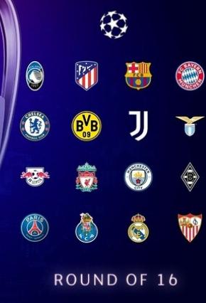 نتيجة قرعة دوري ابطال اوروبا لدور الـ 16 لموسم 2020/2021