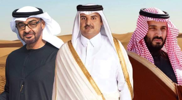 امراء الازمة الخليجية فرقتهم المصالح ووحدهم الولاء لامريكا