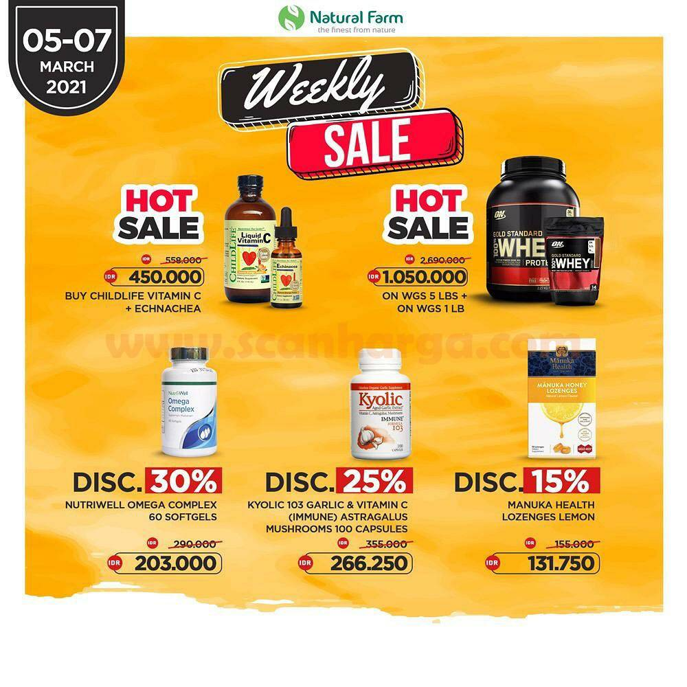 Promo Natural Farm Weekly Sale Diskon hingga 30%