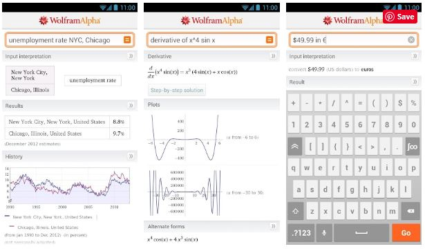 Wolfram Alpha APK (Pro Version) free Download for Android