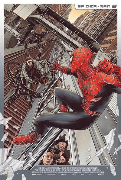 Póster de Spiderman 2