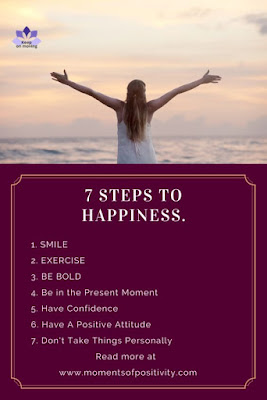 7 Steps To Happiness.