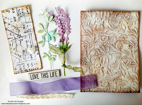 A Vintage Journey Card Making Tutorial With Jo