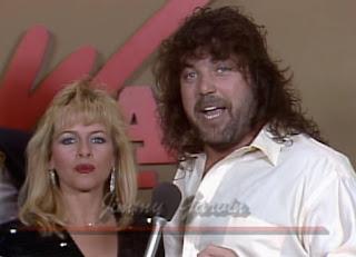 NWA Starrcade 1987 - Jimmy Garvin (w/ Precious)
