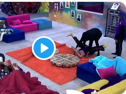 Watch the moment housemates shows off their favorite knacking positions, Nini's own will shock you
