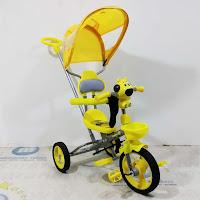 sepeda roda tiga anak exotic et605-78 baby tricycle