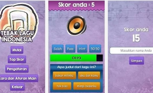game tebak lagu Indonesia