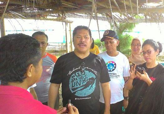 Kajati Sulsel, Kunjungi Kampung Penyu, dan Gong Nekara, Selayar