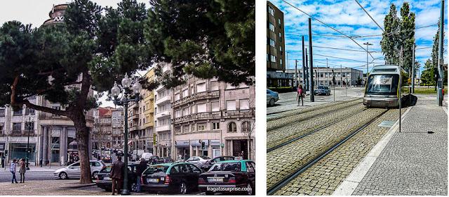 Metrô do Aeroporto ao centro da Cidade do Porto