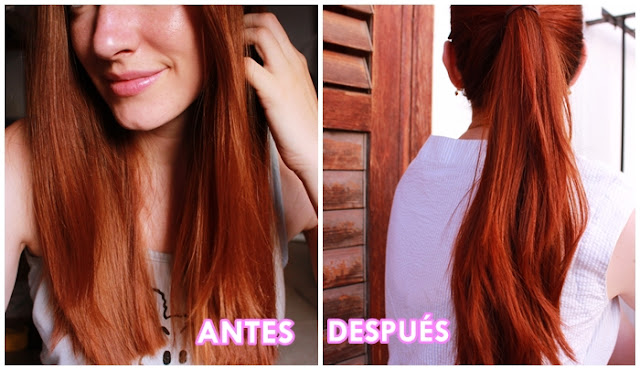 antes y despues henna