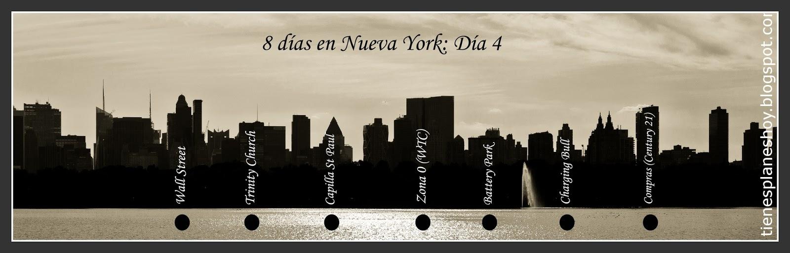 Itinerario día 4 de 8 días en Nueva York