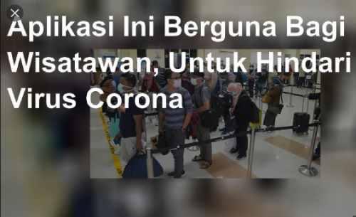 Aplikasi Melacak Keberadaan Virus Corona