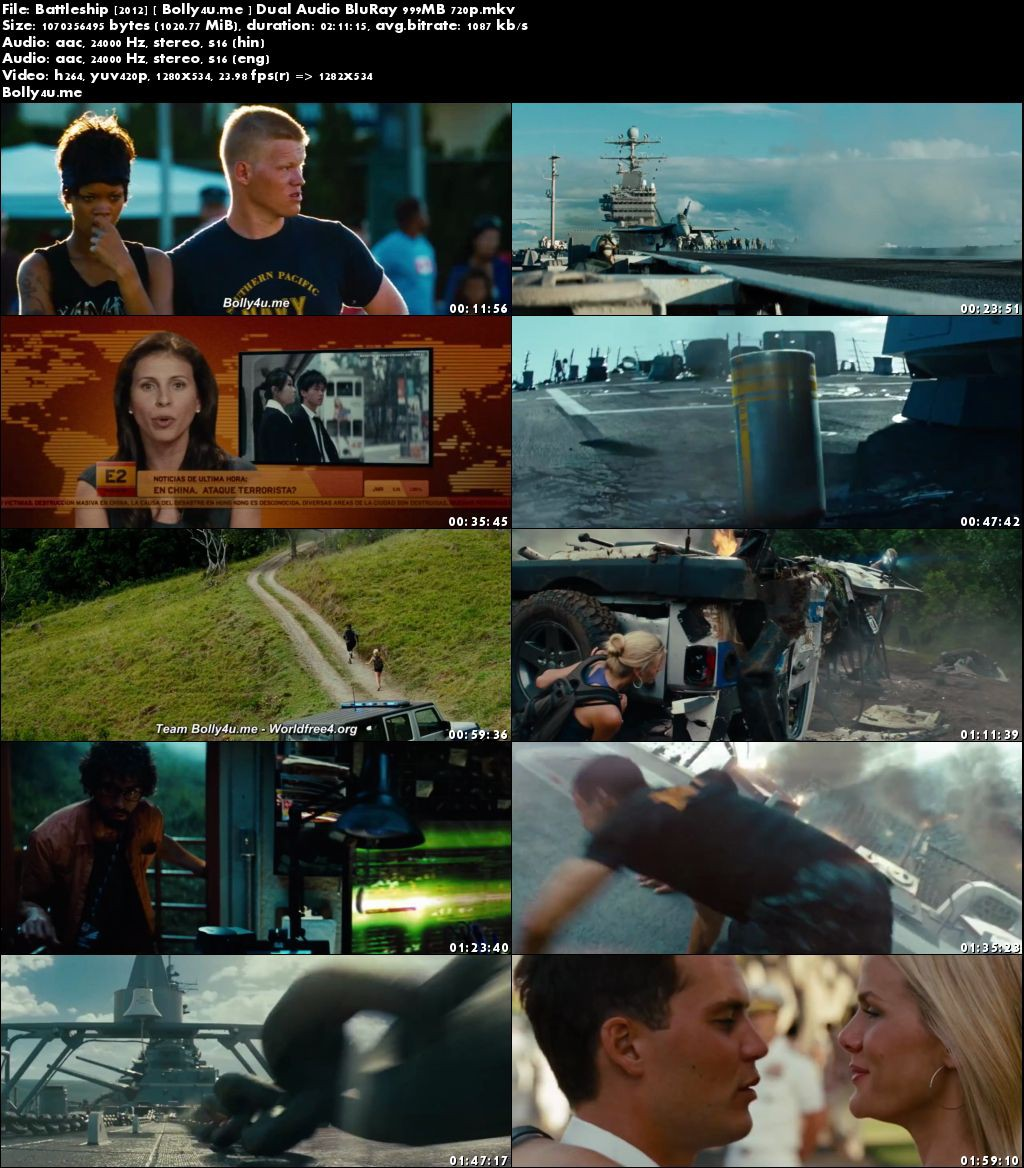 Battleship 2012 BluRay 400MB Hindi Dual Audio ORG 480p Download