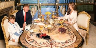 Donald Trump House, Melania Trump House, Family