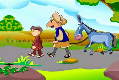 The Man, the Boy, and the Donkey 1 - Aesop Moral Story