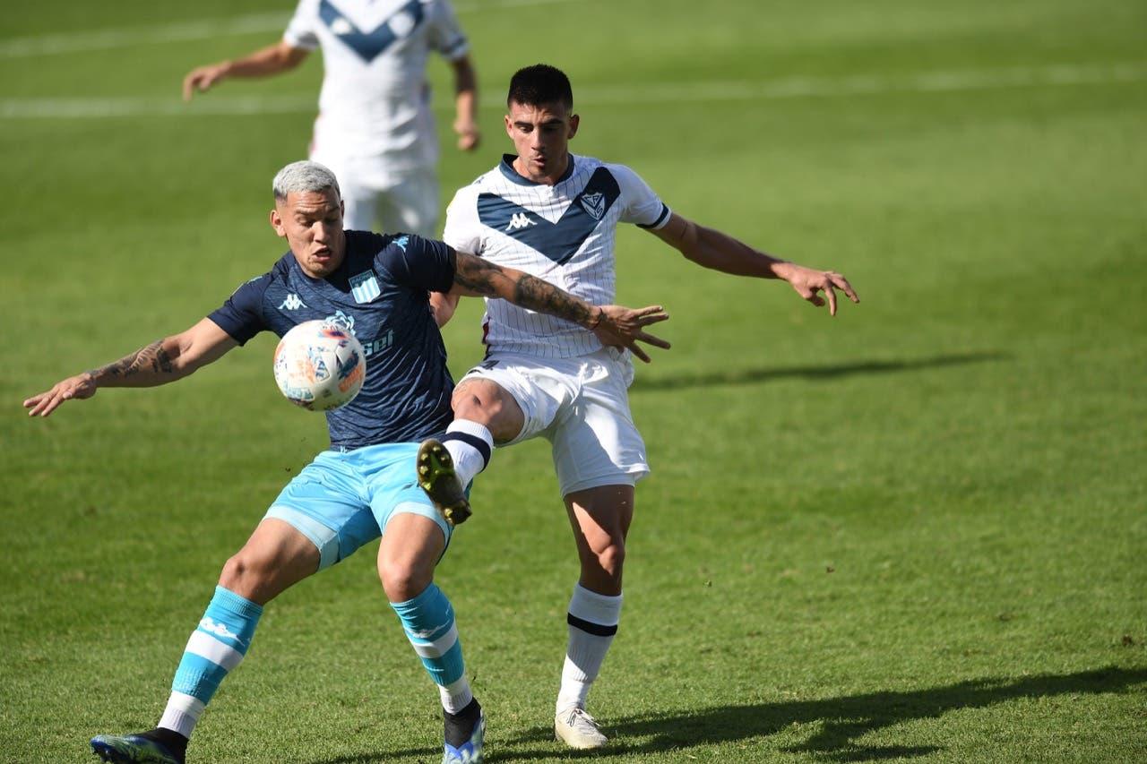 Racing venció por penales a Vélez y pasó a las semifinales de la Copa Liga Profesional
