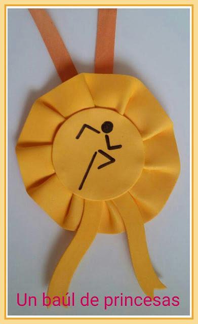 Medalla corredor