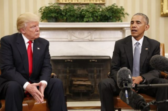 Trump Lashes Out At Obama Over Inflammatory Statements